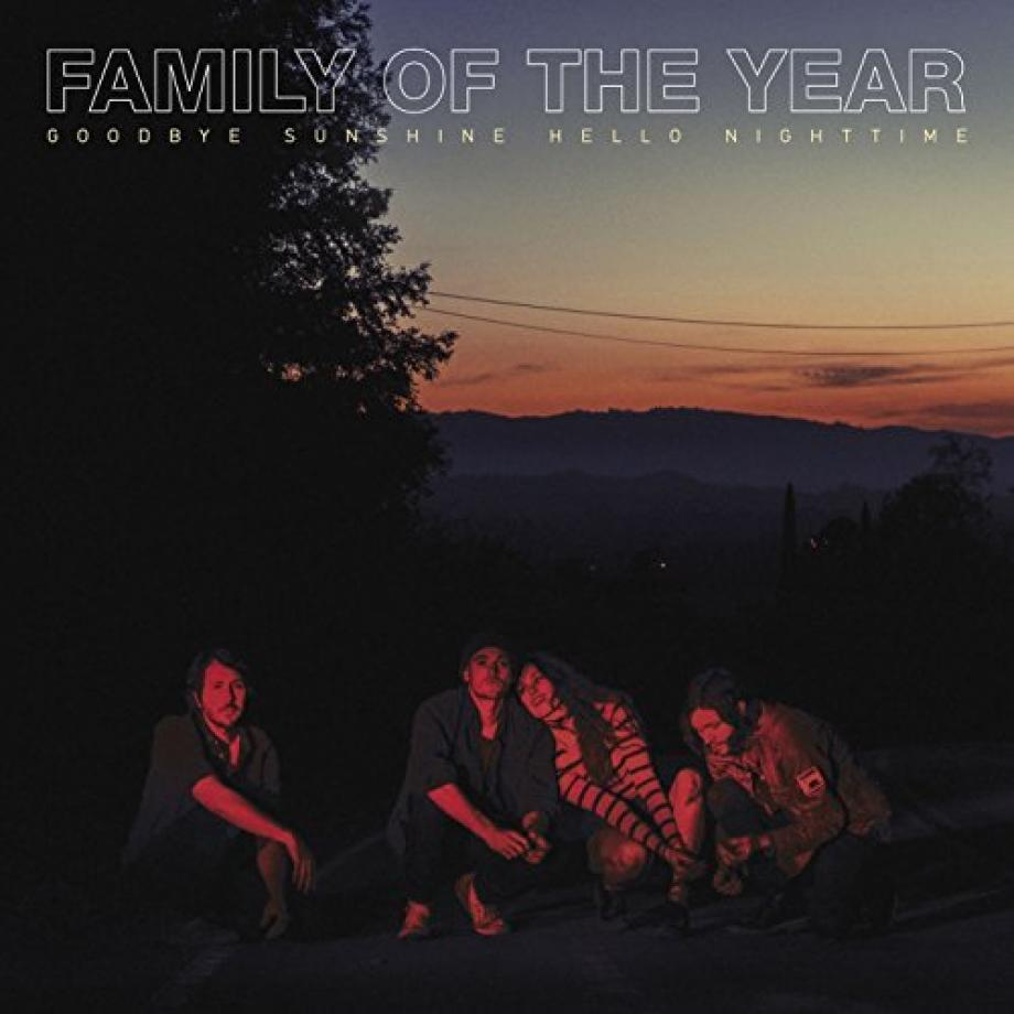 Family Of The Year Goodby Sundshine Hello Nighttime Cover