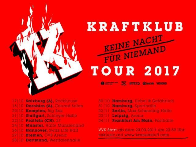 Update kraftklub k ndigen neues album tour an for Fenster kraftklub