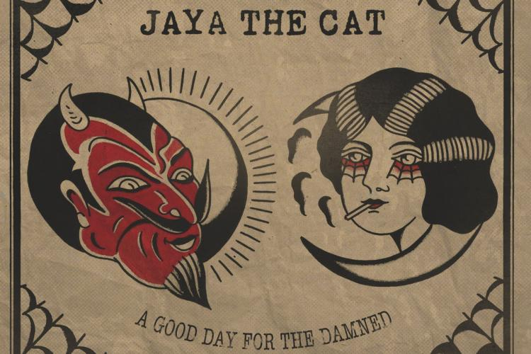 Jaya The Cat A Good Day For The Damned Cover
