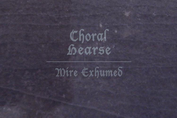 Choral Hearse Mire Exhumed Cover